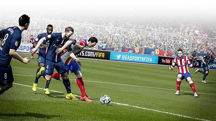 Que tal uma partida de FIFA 15…