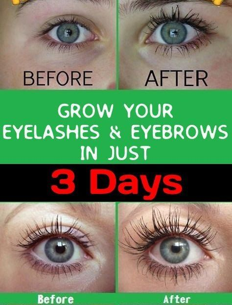 How to make your eyelashes & eyebrows Grow fast in just 7 ...