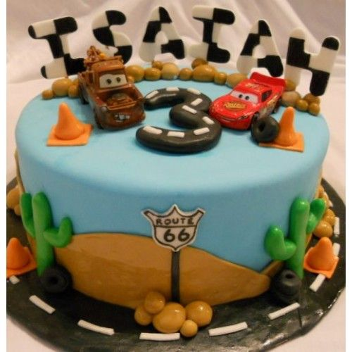 GiftJaipur delivers what your kid likes. Kids love birthday cakes that have a theme or idea. They find such cakes full of fun. This special car theme cake is for car loving children. So surprise your children with this cake on their special ocassion. This is sugar paste cake weighting aprox 3 KG. Cake can be prepared in butterscotch,pineapple,vanilla,strawberry,chocolate flavor. You can choose flavor of your choice from delivery options.