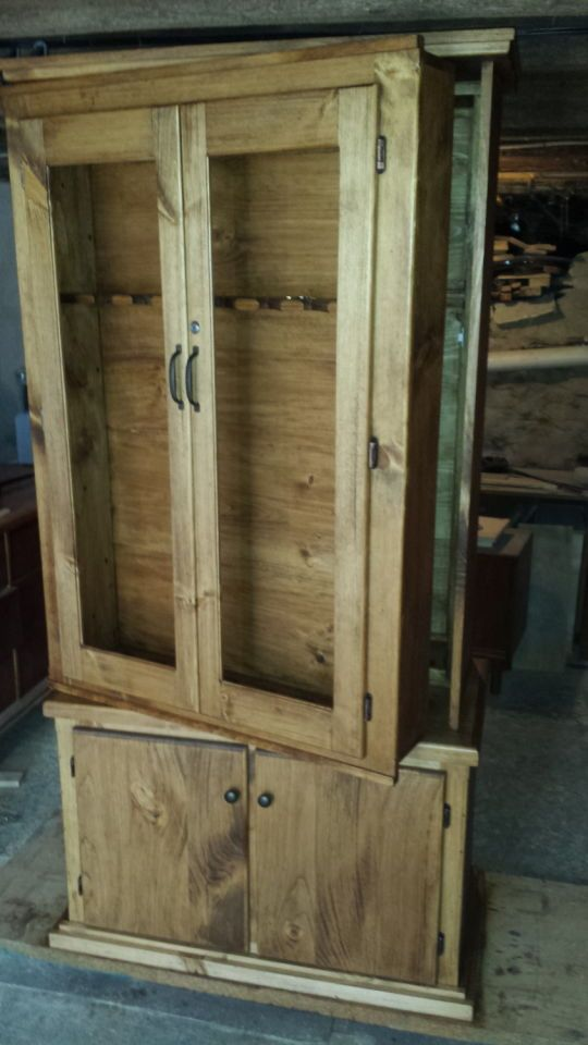 Plans For Simple Gun Cabinet Woodworking Projects Amp Plans
