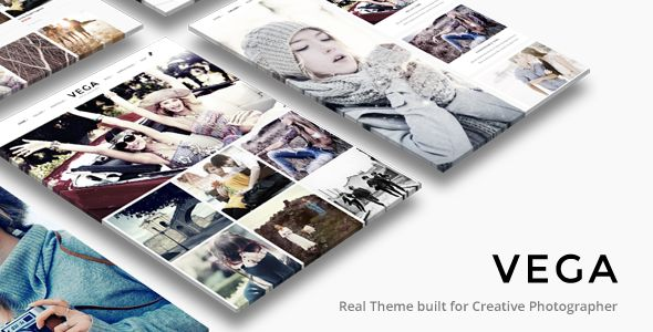Photography Portfolio Gallery | Vega Theme - Photography Creative
