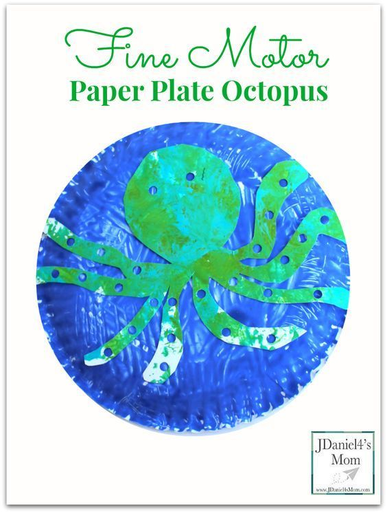 octopus paper plate craft 17 best images about theme on paper 5042
