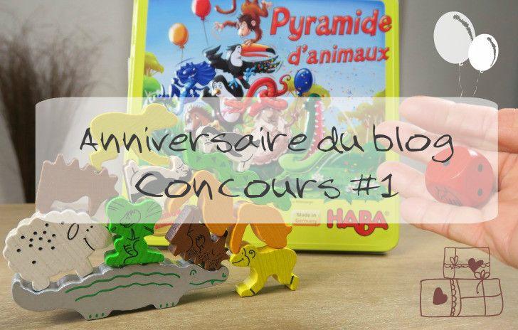 -26062016-Un jeu pyramide des animaux d'Haba est à gagner pour fêter les 1 an du blog. Un jeu qui plaira à tous et qui ravira vos enfants pendant les vacances !
