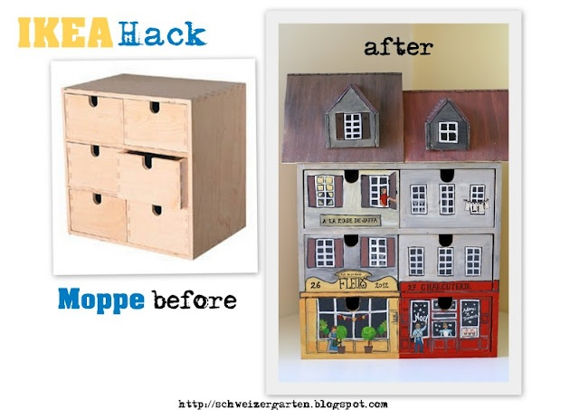 ein schweizer garten ikea hack moppe before after diy home art pinterest house ideas haus. Black Bedroom Furniture Sets. Home Design Ideas