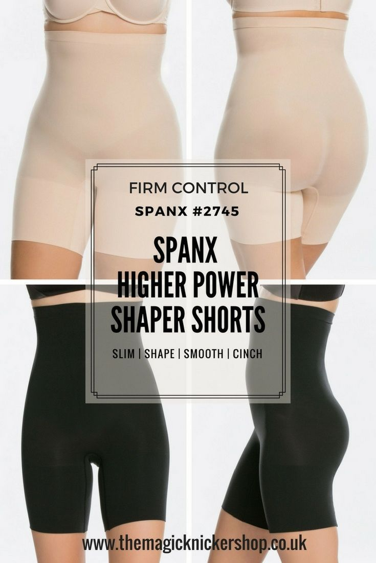 f847744e6e You HAVE to try these Spanx Higher Power Shaper Shorts. They are our all  time