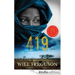 419 by Will Ferguson Or book club selection for November 2013