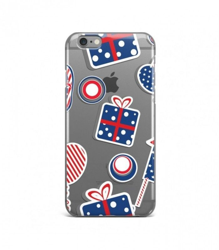 Impressive Gift American Pattern Clear or Transparent Iphone Case for Iphone 3G/4/4g/4s/5/5s/6/6s/6s Plus - USA0079 - FavCases