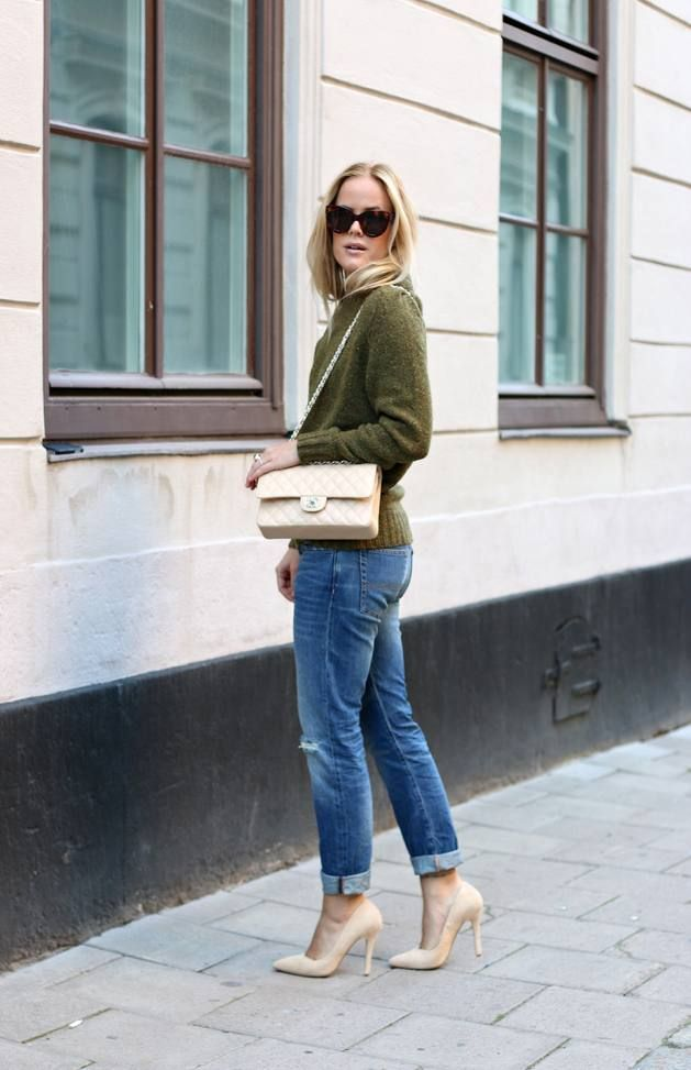 Khaki Perfect Knit Sweater  # #Joanna Fingal #Summer - Pre Fall Trends #It-Girl #Best Of Summer/Pre Fall Apparel #Sweater Knit #Knit Sweaters #Knit Sweater Khaki #Knit Sweater perfect #Knit Sweater Clothing #Knit Sweater 2014 #Knit Sweater Apparel #Knit Sweater How To Style