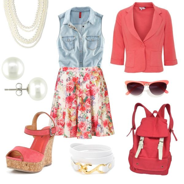 Very cute Back to School #outfit by Jessica
