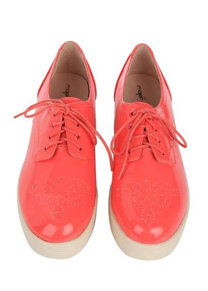 Derbies compensées cuir CORAL by MELLOW YELLOW