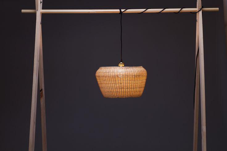 Müpu | Lámpara de mimbre