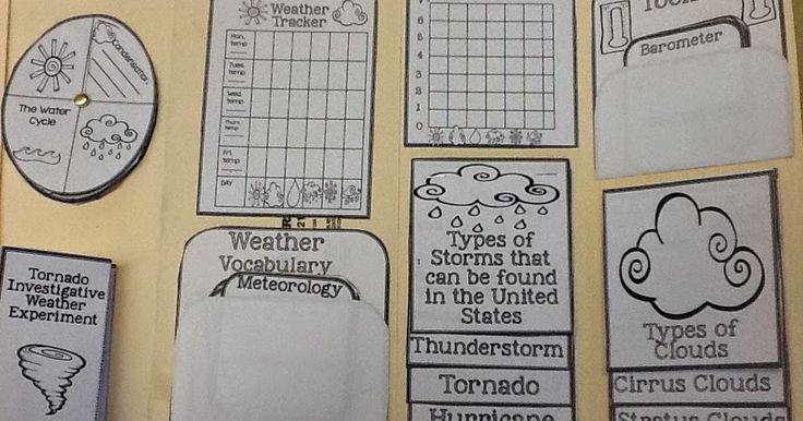 17 best ideas about teaching weather on pinterest