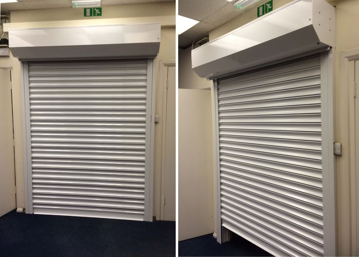 Previous installation of our RSG5000 steel security shutter to some commercial offices and warehouse in Surrey.