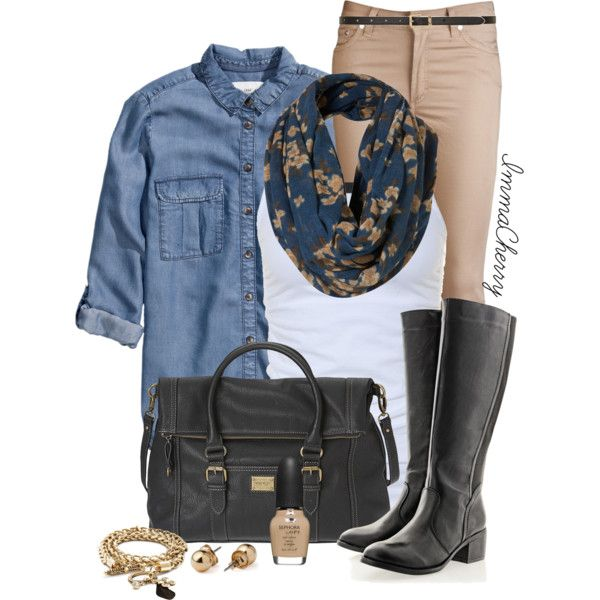 """Denim Chic"" by immacherry on Polyvore"