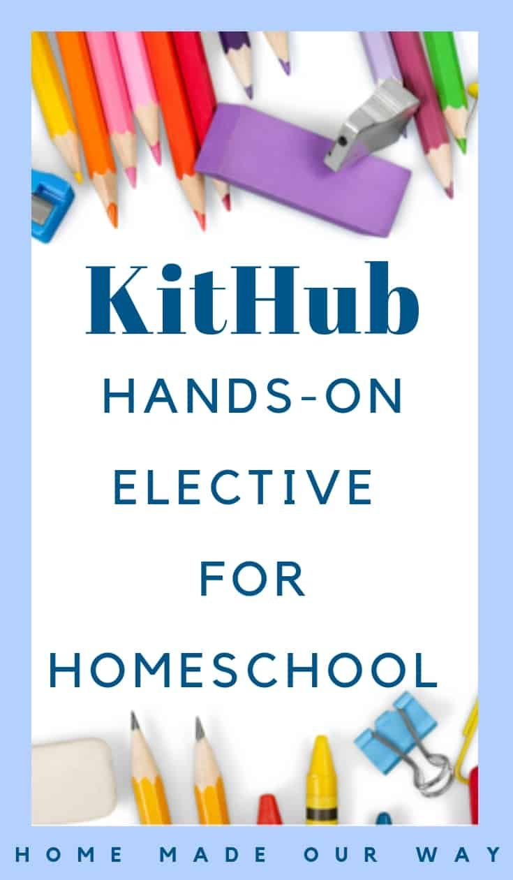 KitHub Review: Electronic Kits, an Exciting Hands-On Elective for Homeschool