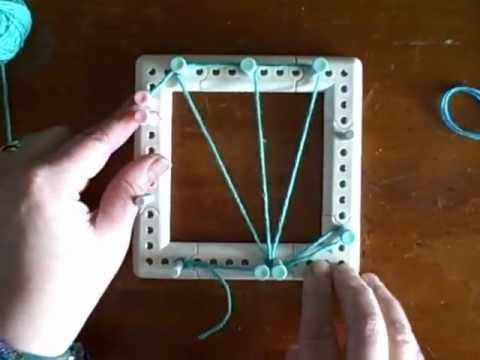 Weaving - How to weave tiny fish garland on the Martha Stewart loom by Noreen Crone-Findlay.
