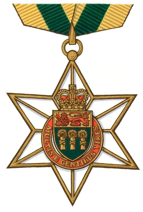 The Saskatchewan Order of Merit is a civilian honour for merit in the Canadian province of Saskatchewan. Instituted in 1985 by Lieutenant Governor Frederick Johnson, on the advice of the Cabinet under Premier Grant Devine, the order is administered by the Governor-in-Council and is intended to honour current or former Saskatchewan residents for conspicuous achievements in any field, being thus described in law as the highest honour amongst all others conferred by the Saskatchewan Crown.