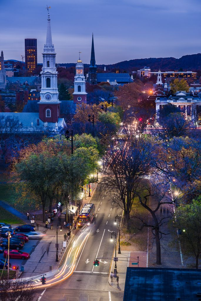 Temple Street, New Haven | Connecticut (by George in the Gorge)