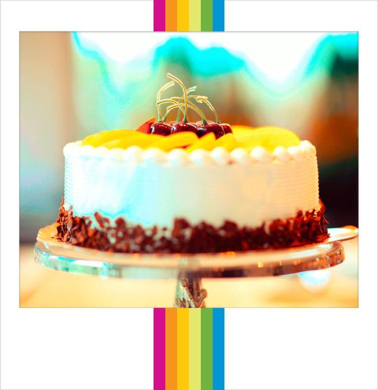 #Homemade #Fruit #Cake. #PolaroidFx #Frame #Filter #Yummy #Sweet #Dessert #Food #Cook