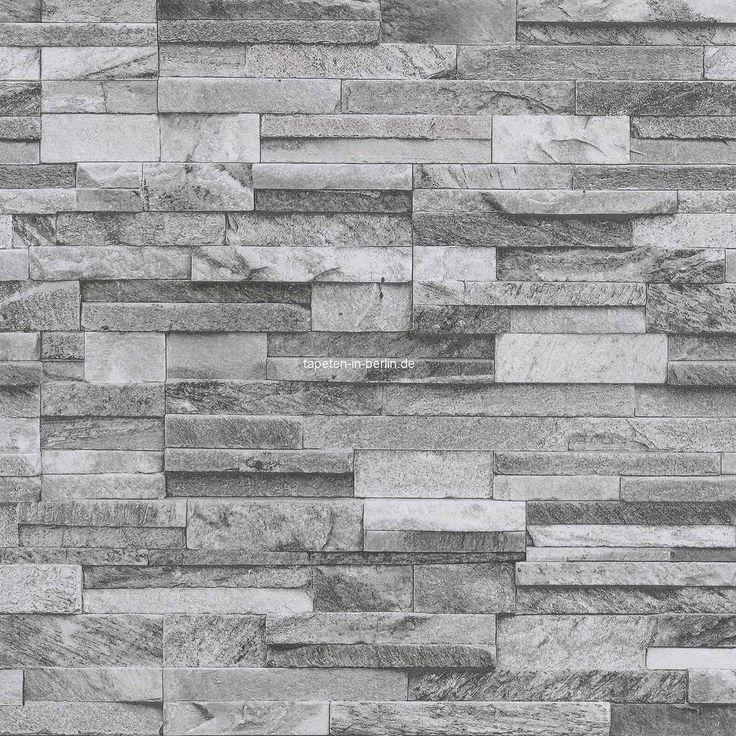 die besten 25+ steintapete ideen auf pinterest | steinoptik wand