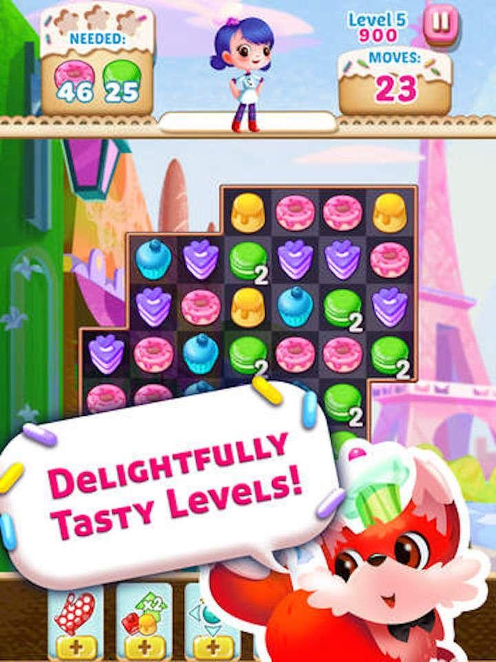 Cookie Crush Blast - Jolly splash match 3 games screenshot 6