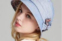 Floral bucket hat with bow for women UV protection sun hats
