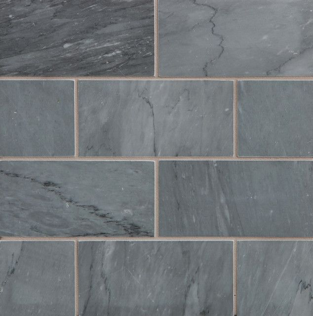 Gorgeous Blue Grey Stone Subway Tile From Walker Zanger