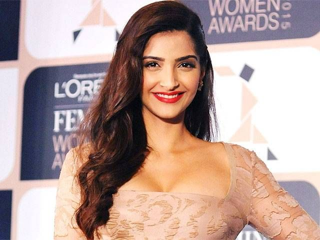 SONAM KAPOOR Age: 32  Profession: Actress  Sonam's father, Anil Kapoor, successfully transitioned from Bollywood actor to Hollywood guest star, appearing in projects like the TV show 24 as well as in Oscar award-winning Slumdog Millionaire. His daughter has become a renowned Bollywood actress, and is one of the highest paid in the industry.