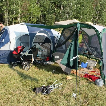 Camping with a Newborn & Toddler - 10 Dos & Don'ts
