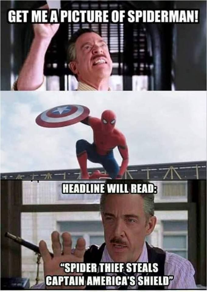 Get me a picture of Spider-man!