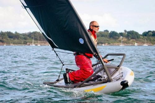 Tiwal rigid inflatable dinghy Morbihan has been awarded the prestigious American Sailing world magazine.