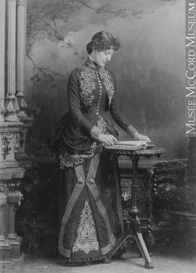 Miss Langlands, Montreal, QC, 1886