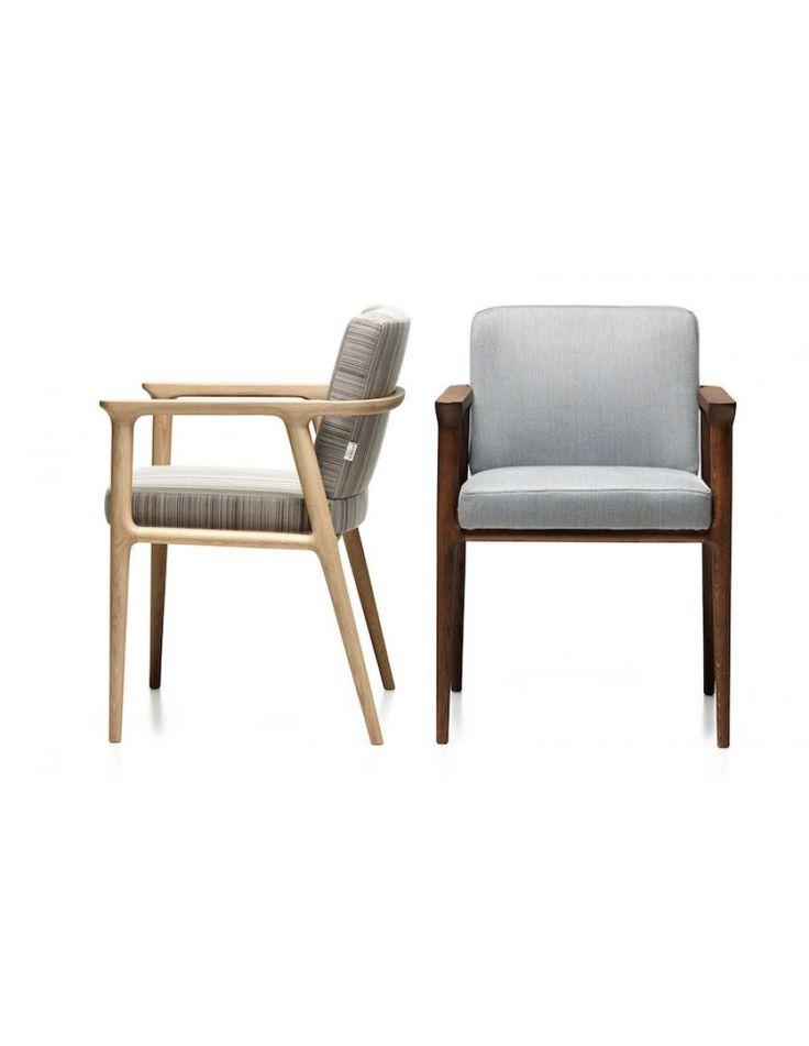 Moooi Zio design stoel Marcel Wanders stof hout