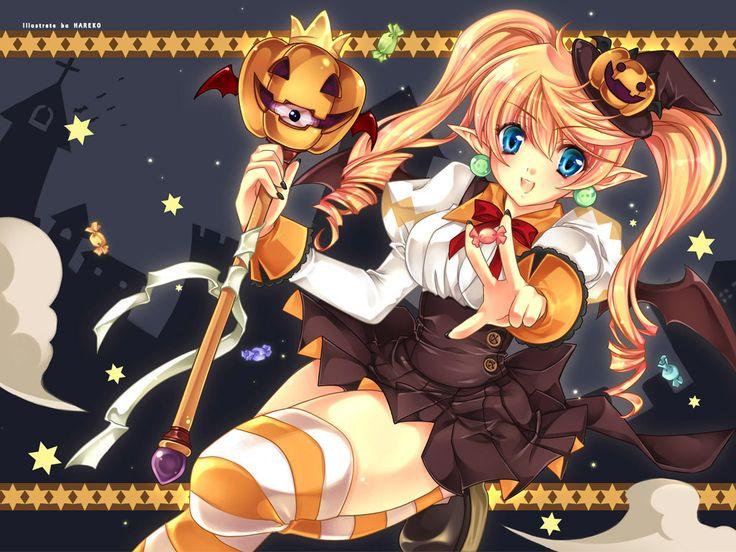 Happy Halloween, guys! / ecchi (anime erotic and sexy