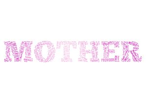 free mother wordart