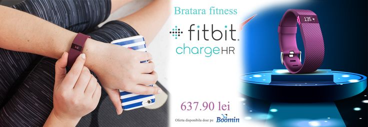 Urmareste progresul tău în timp real cu #bratarafitness #FitbitchargeHR