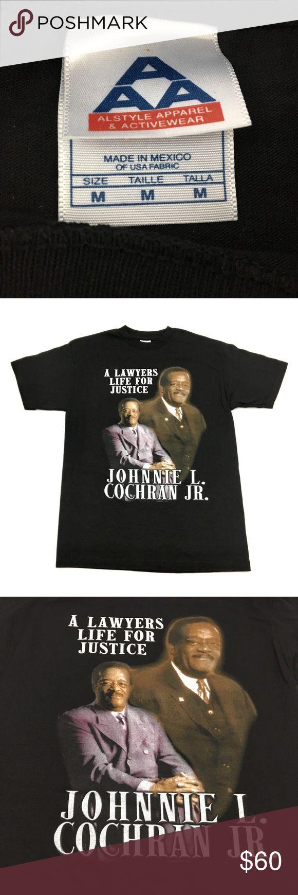 New Vintage Johnnie Cochran T Shirt Tee Nwot Tee Shirts Vintage Shirts Shirts