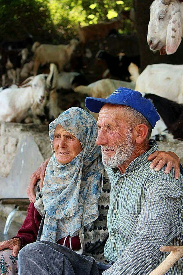 Altes Türkisches Ehepaar