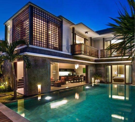 Relax and cozy desing of 3 bedroom villa at Seminyak Bali. Design by Me/_Dodi Nug