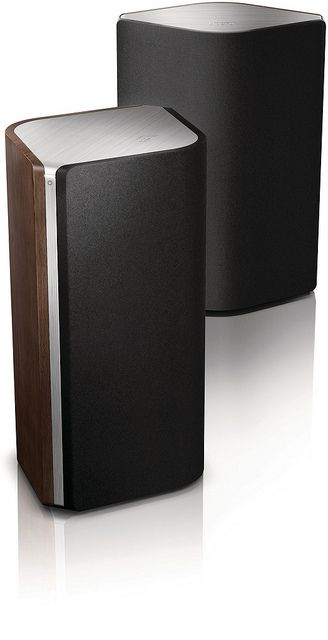 Philips Fidelio wireless HiFi speakers A9 스틸+나무질감