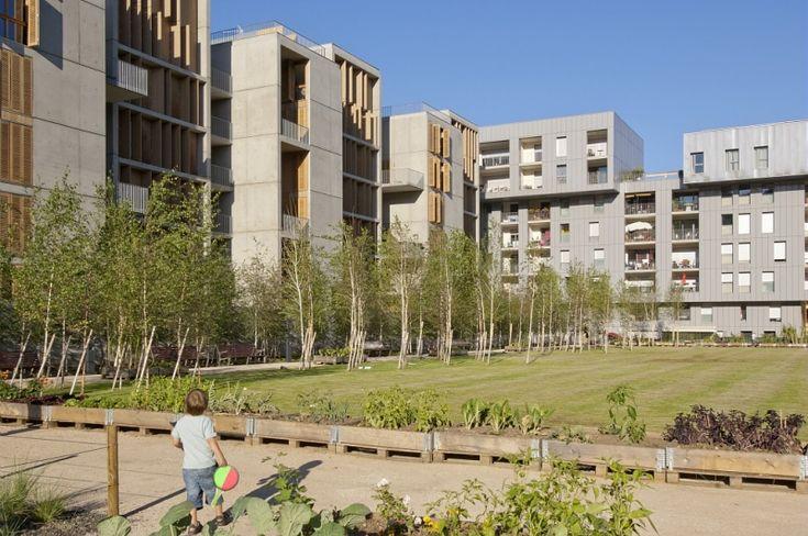 Lyon Islands - architectes : Massimiliano Fuksas - Vincenzo Amantea - HTVS Architecture - Clément Vergély #lyonconfluence #laconfluence #architecture #quartierdurable #architecturedurable (c) Aurélie Pétrel / SPL Lyon Confluence