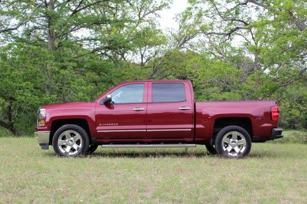 2014 Chevrolet Silverado 1500 Reds Side View 600x399 2014 Chevrolet Silverado 1500 Review Details