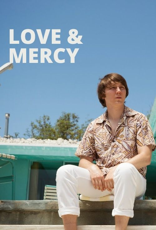 love and mercy, this movie about Beach Boy Brian Wilson is very intriguing and surprising since I kinda' hate the Beach Boys.
