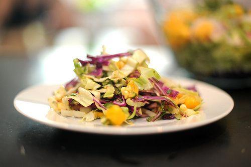 asian-inspired slaw with mango | Salads | Pinterest | Mango