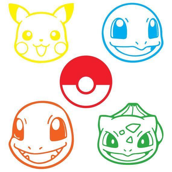 Pin By Bridget K On Cricut Vinyl Stickers Pokemon Decal Pokemon Stencils Pokemon