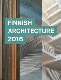 Finnish architecture 2016. Näyttelyn yhteydessä julkaistu kirja esittelee korkeatasoista suomalaista arkkitehtuuria vuosilta 2014 ja 2015. Vuonna 2016 arkkitehtuurin kaksivuotiskatsaus nostaa esille rohkeaa ajattelua ja kokeilevaa arkkitehtuuria. Mukaan valikoitui useita kiinnostavia avauksia asuntorakentamisen puolelta. Myös kotimainen osaaminen korjausrakentamisessa on monipuolisesti edustettuna ajankohtaisessa valikoimassa.