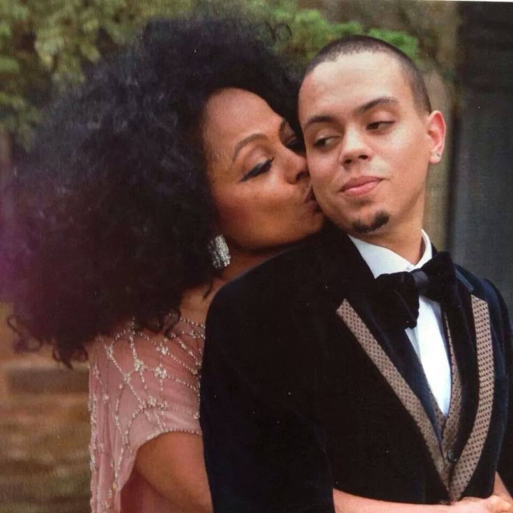 Diana Ross and her son Evan on his wedding day in Greenwich CT. Www.Facebook.com/DianaInSimsbury