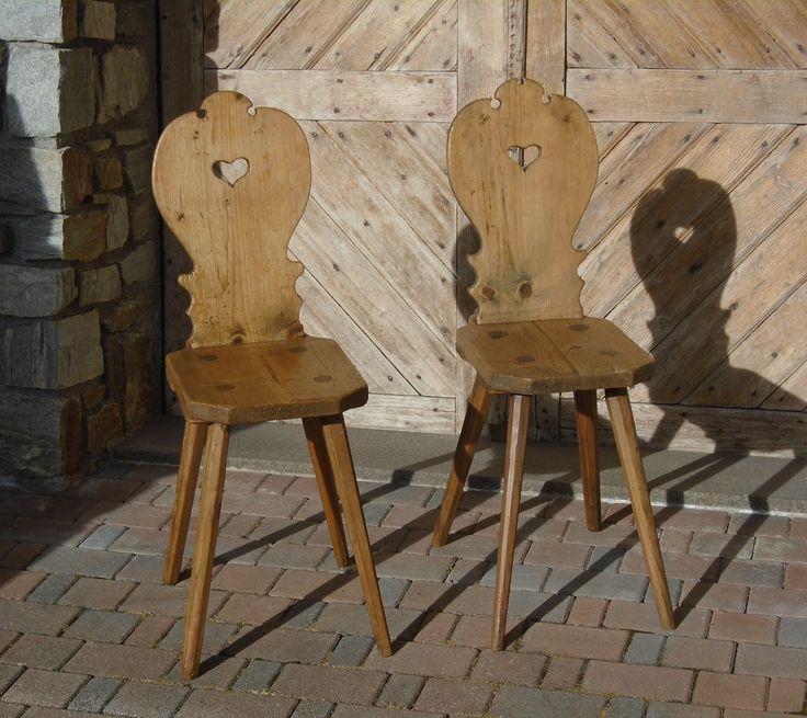 Sedie | Antichità Evelina - Vendita mobili antichi tirolesi