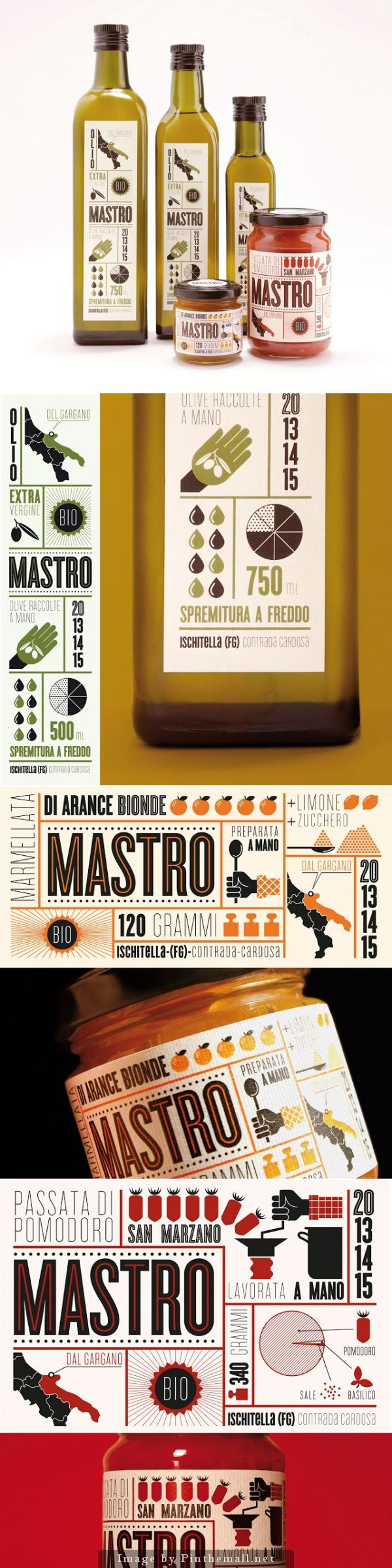 Mastro Azienda Agricola Creative Agency: The 6th Concept: Emanuele Basso and Elena Carella Graphic design: Emanuele Basso Client: Mastro Azienda Agricola Location: Milano/ Italy Project Type: Commercial Work
