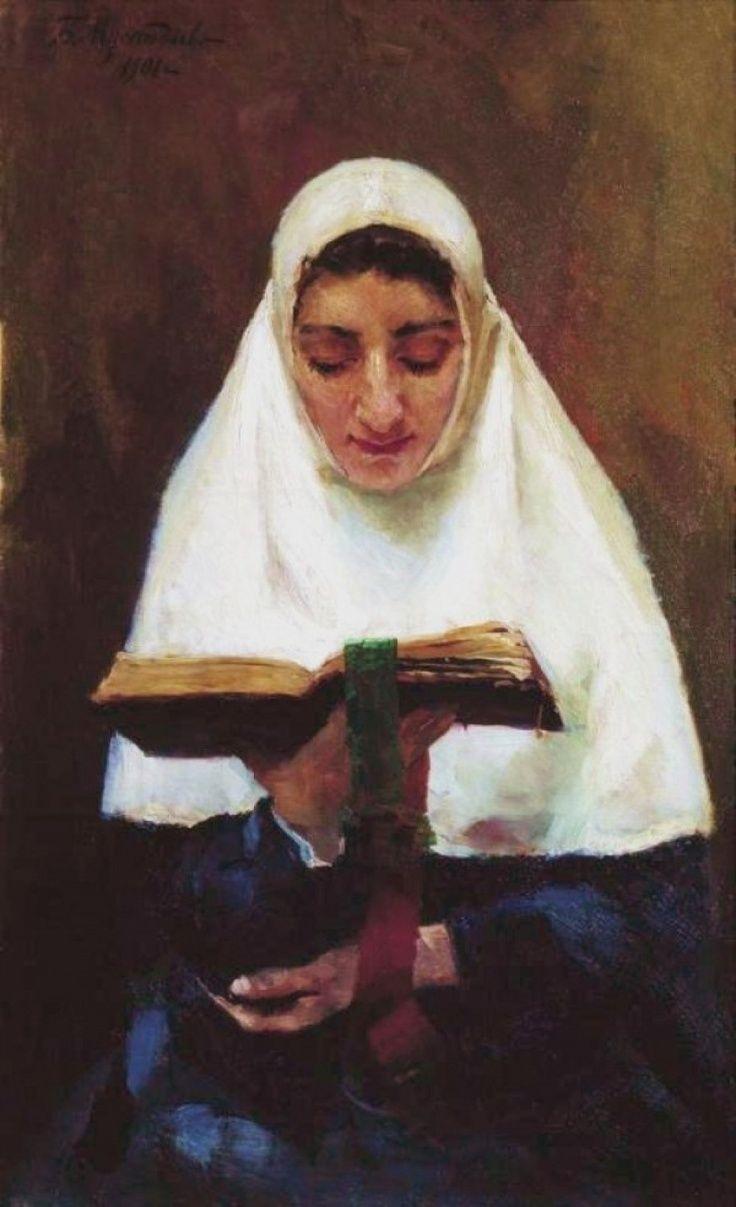 pintura de Boris Kustodiev (1901)